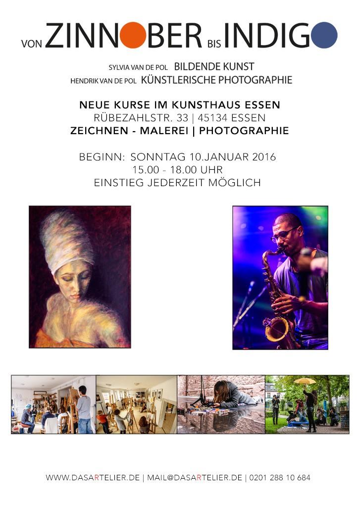 Kurse Kunsthaus Essen
